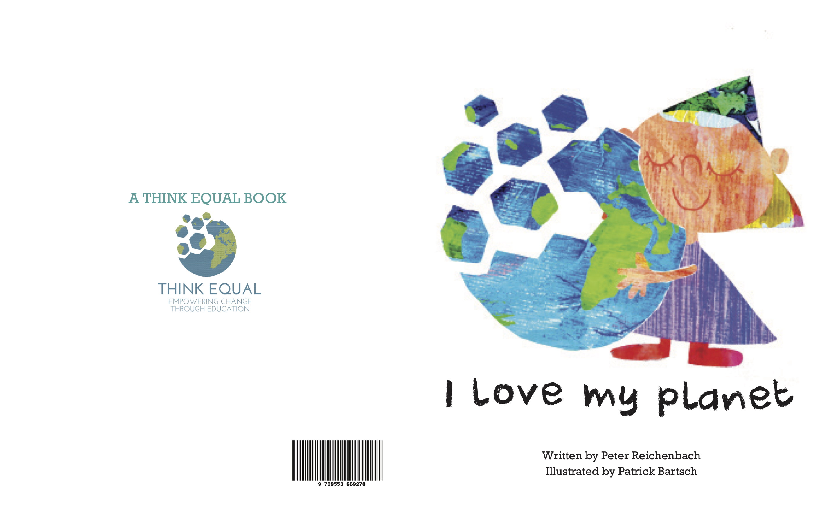 Cover of 'I Love My Planet', Level 1