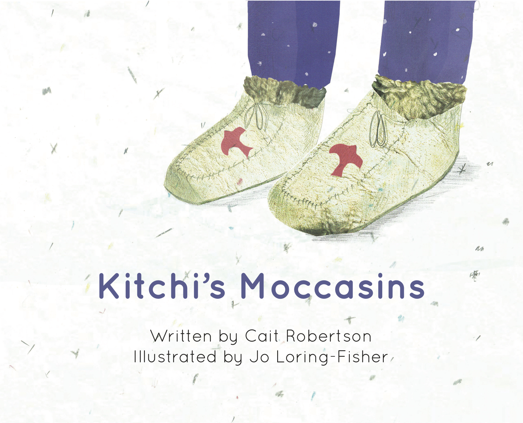 Cover of 'Kitchi's Moccasins', Level 1